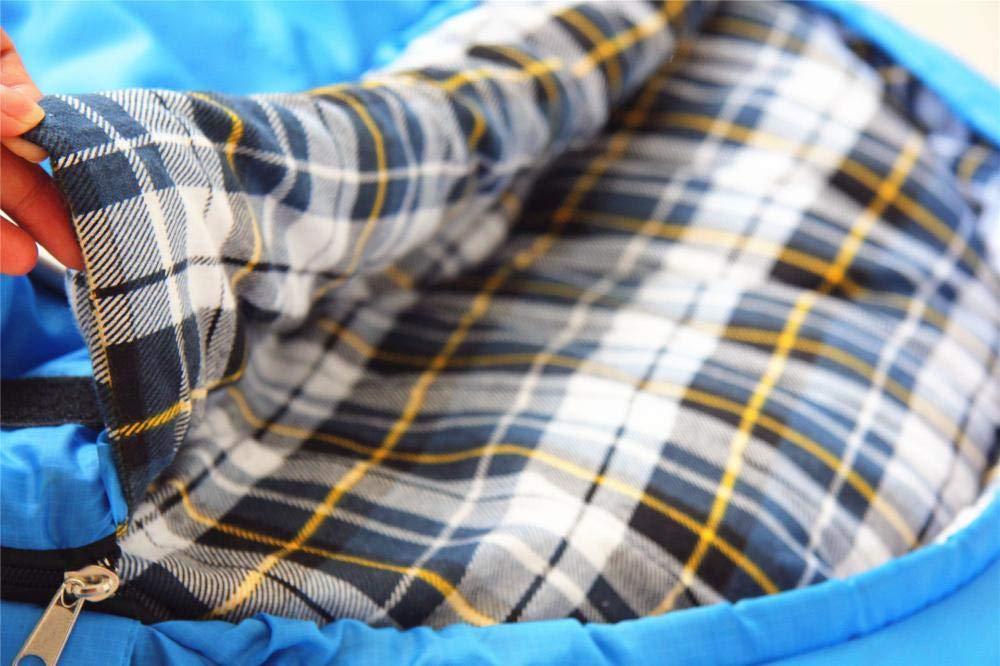 Sweety Schlafsack Flanell-Umschlag mit Kapuzen Kissen Kissen Kissen Erwachsenen thermische Schlafsack für Outdoor-Camping Indoor Camping 210  75cm B07JHBC5P1 Deckenschlafscke Qualitätskönigin 8c1165
