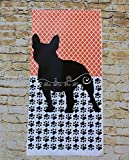 Personalized French Bulldog Garden Flag