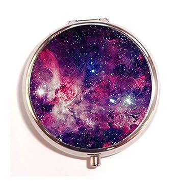 Amazon.com: Galaxy Universo Espacio Custom Caja Píldora ...