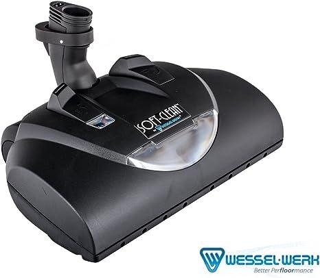 WESSEL WERK EBK360 SOFT CLEAN CENTRAL VACUUM ELECTRIC POWERBRUSH BLACK NO WAND