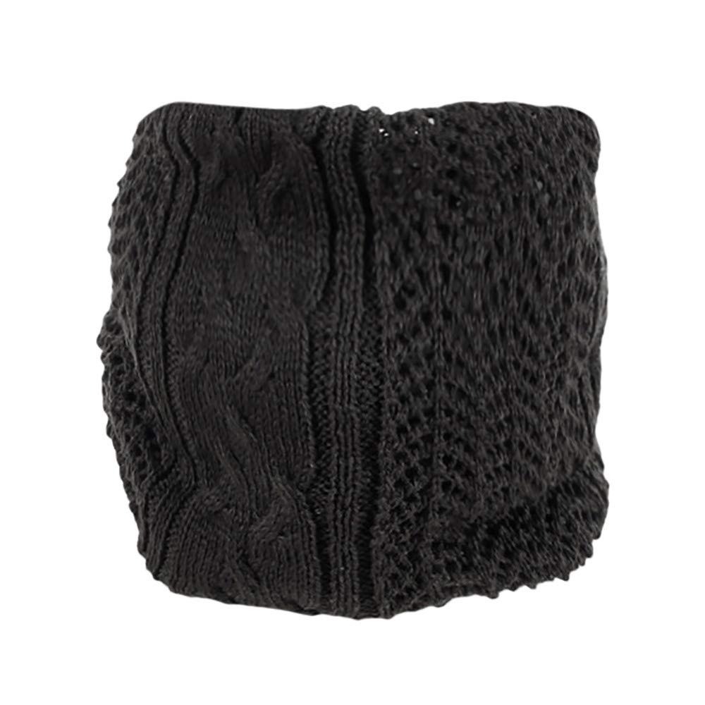 ShenPoutor_Women's Scarves ShenPr Infinity Scarf Harsh Winter Double-Layer Fleece Lined Thick Knit Neck Warmer Circle Scarf