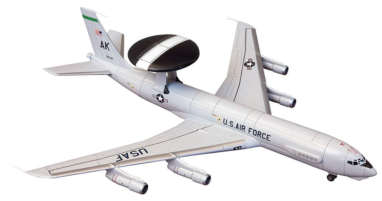 Minicraft 14526 Boeing E-3 Sentry AWACS 1//144 Scale Model Kit .
