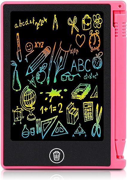4 5 Pulgadas Tableta de Escritura LCD Tablero de Dibujo para Niños para Crear Listas de Tareas Listas de Compras Recordatorios de Eventos Notas Breves
