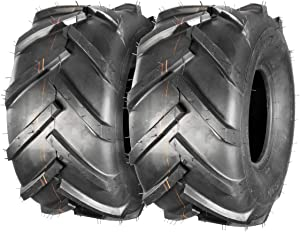 Pack of 2 20x10-8 20x10.00-8 20x10x8 Super Lug Lawn & Garden Tire, 4PR