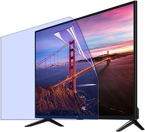 KELUNIS TV Anti Blue Light Filtro De Pantalla por 46 Pulgadas Monitor LCD, Bloquea La Luz Azul Dañina Excesiva Reduce La Fatiga Ocular Y Fatiga Ocular: Amazon.es: Hogar