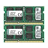 ValueRAM 16GB Kit (2x8GB) 1600MHz DDR3 PC3-12800 Non-ECC CL11 SODIMM Notebook Memory KVR16S11K2/16