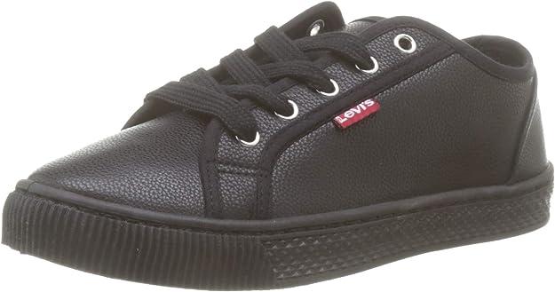 Levi's Malibu Beach S Sneakers Damen Schwarz (Glatt)