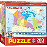Eurographics 6200-0797 Map of Canada 200-Piece Puzzle