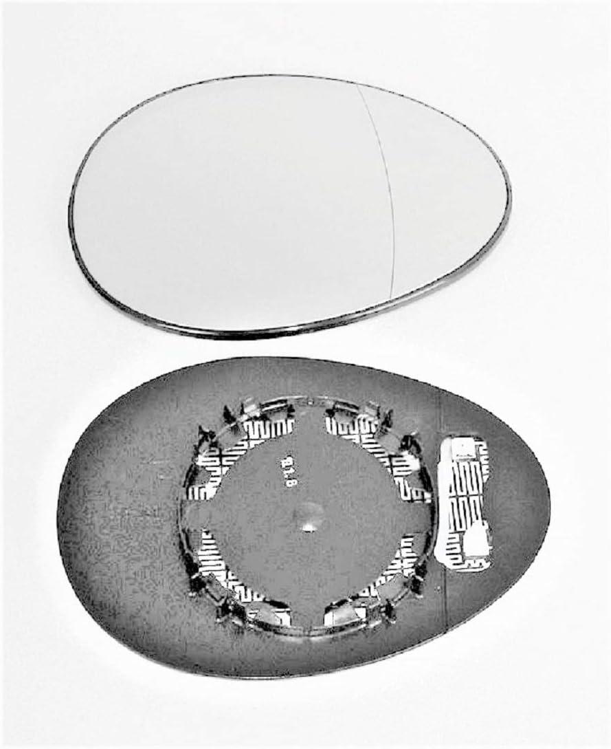 Spiegel Spiegelglas rechts Pro!Carpentis kompatibel mit R55 R56 R57 ab Baujahr 10//2006 beheizbar f/ür elektrische und manuelle Aussenspiegel geeignet