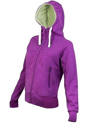 ab825b2aee8858 SEESTERN Damen Kapuzen Sweat Shirt Jacke Kapuzen Pullover Hoody Sweater S -  XXL  Amazon.de  Bekleidung