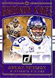 Adrian Peterson football card (Minnesota Vikings) 2016 Gridiron Kings #21