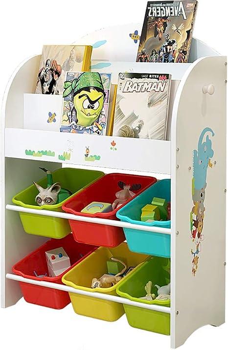 WBHD Libreria Niños, Estantería de Jardín de Infantes Simple Estanterías Infantiles Dibujos Animados de Plástico Pintado Estantería Regalos para Niños (Size : 80x30x63cm): Amazon.es: Deportes y aire libre
