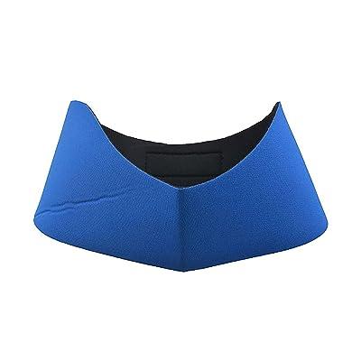 Haute élasticité Natation Bandeaux gratuit de natation Bouchons d'oreilles garder l'eau hors Bleu 1pcs