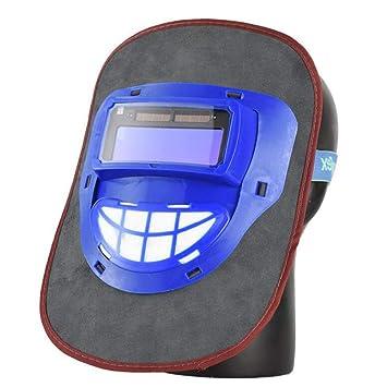 LAIABOR Casco de Soldadura Máscara de Soldadura Cabeza de oscurecimiento automático Soldador máscara Tapa ARC TIG9 Mig,Black: Amazon.es: Deportes y aire ...
