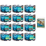 Purina Pro Plan Focus Wet Cat Food Urinary Tract Health (UTH) Variety Pack - 4 Flavors - 3-Ounce Cans (12 Total Cans) with Bonus Catnip