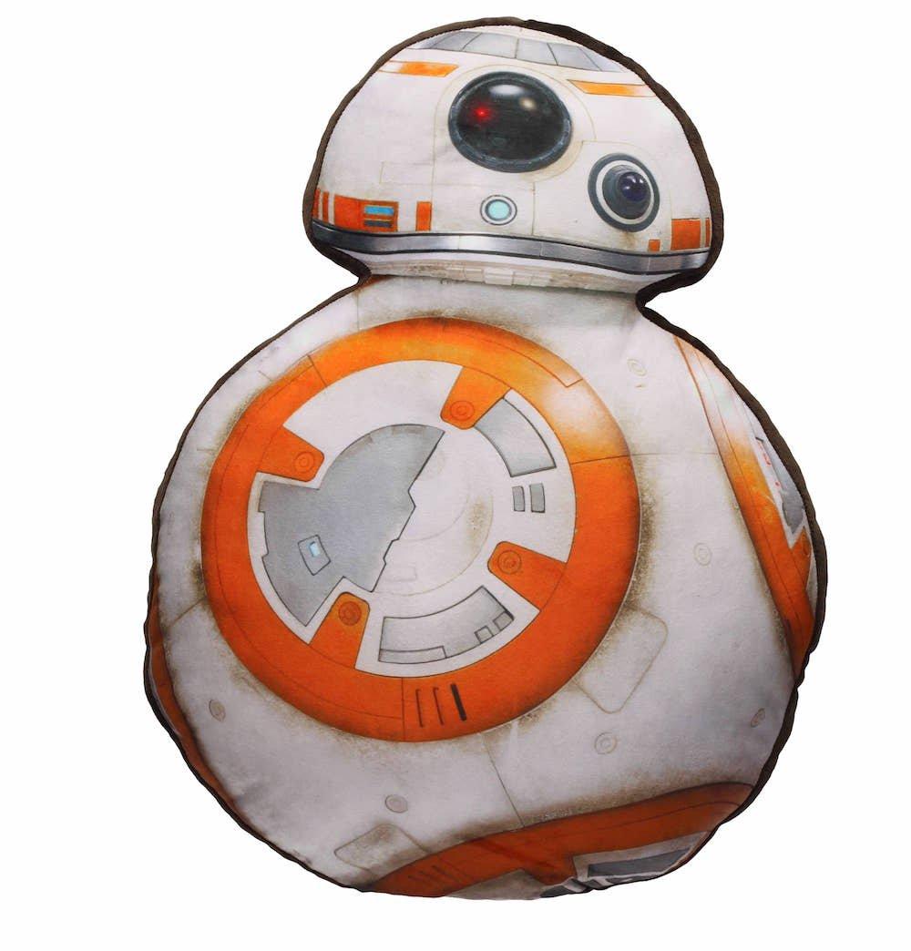 SD toys Cojín BB-8 Star Wars, Acrílico, Blanco, 45 x 60 x 12 cm