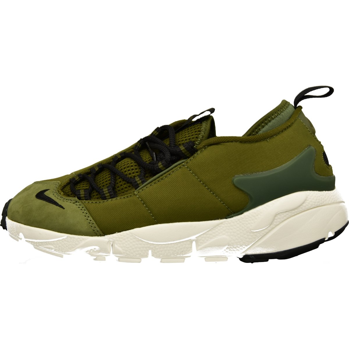 super popular a03ad d938f Nike Men Air Footscape Nm (Legion Green Black-Summit White-Black) Size 8. 0  US  Buy Online at Low Prices in India - Amazon.in