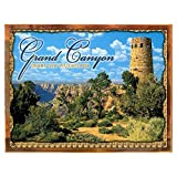 Cheap Wood-Framed Grand Canyon Tower Metal Sign, Vintage Travel, Colorado, Highlighting Traditi… on reclaimed, rustic wood