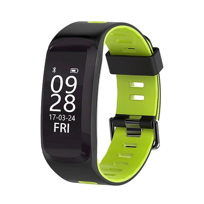 GZCRDZ IP68 impermeable Fitness Tracker pulsera de actividad ...