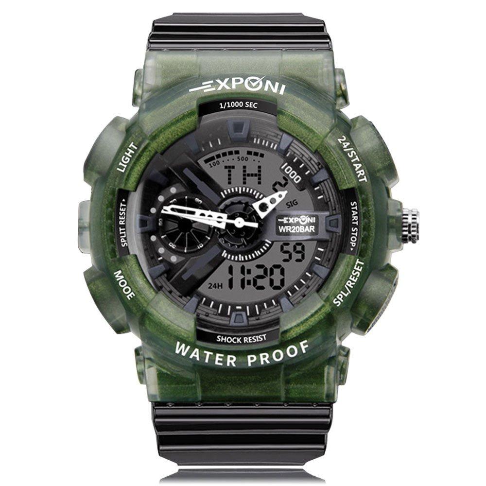 Reloj de pulsera para niños con movimiento de cuarzo japonés, resistente al agua, resistente a los golpes, con esfera grande, ideal como regalo para amantes ...