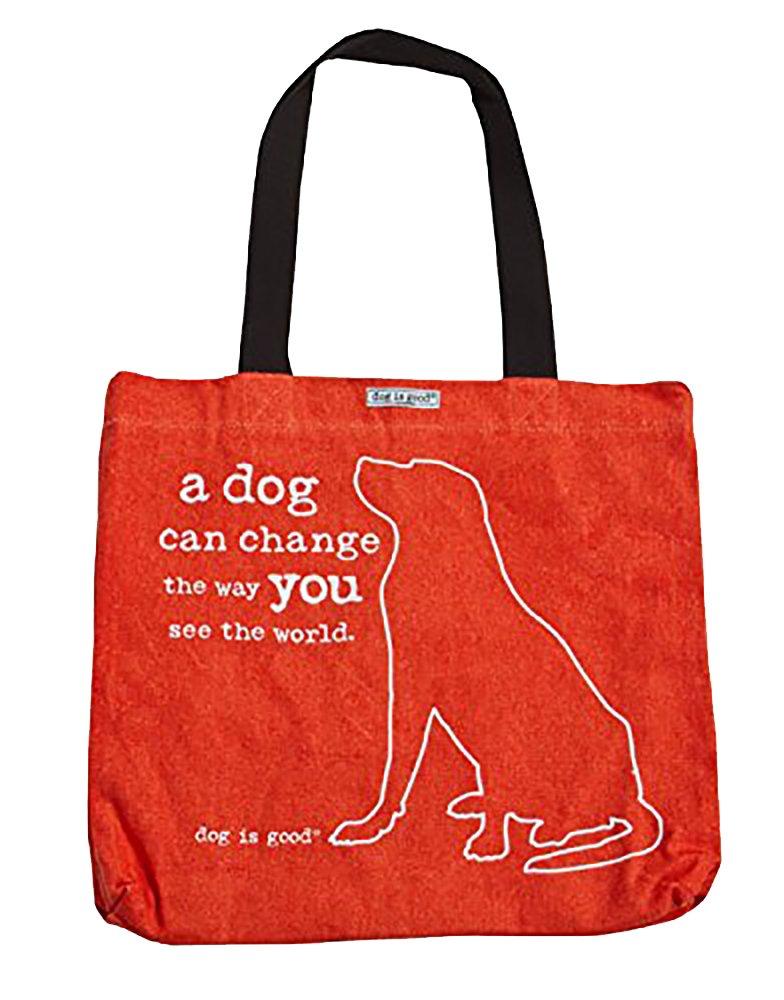 犬はGoodトートバッグ – Great贈り物for Dog Lovers B00NKVAOLG A Dog Can Change the Way You See A Dog Can Change the Way You See