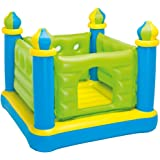 "Intex Jr. Jump-O-Lene Castle Inflatable Bouncer, 52"" X 52"" X 42"", for Ages 3-6"