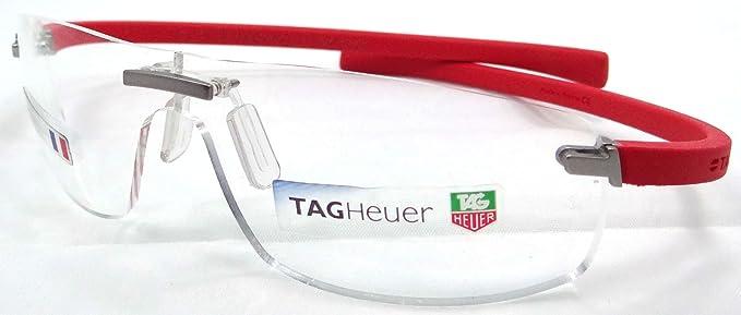 Amazon.com: Tag Heuer Panorama Wide Rx Eyeglasses Frames Th 3521 004 ...