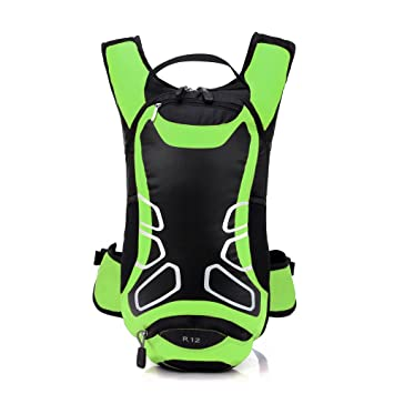 Lixada 12L Waterproof Cycling Bicycle Bike Shoulder Backpack Ultralight  Sport Outdoor Camping Riding Travel Mountaineering Hydration 704376f13