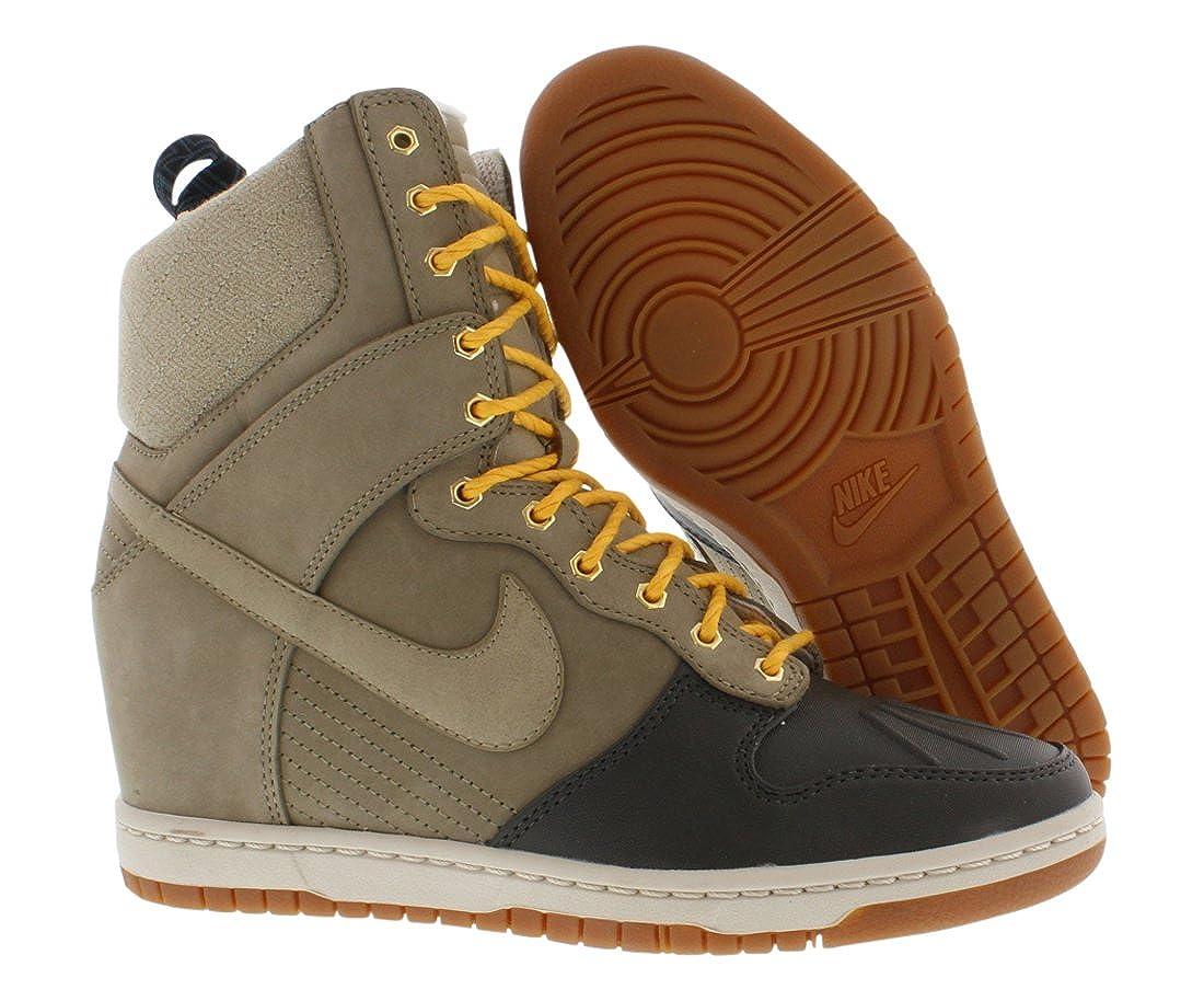 9f0947385c4 ... coupon nike womens dunk sky hi sneakerboot wedge trainers 616175 200  sneakers shoes uk 4 us