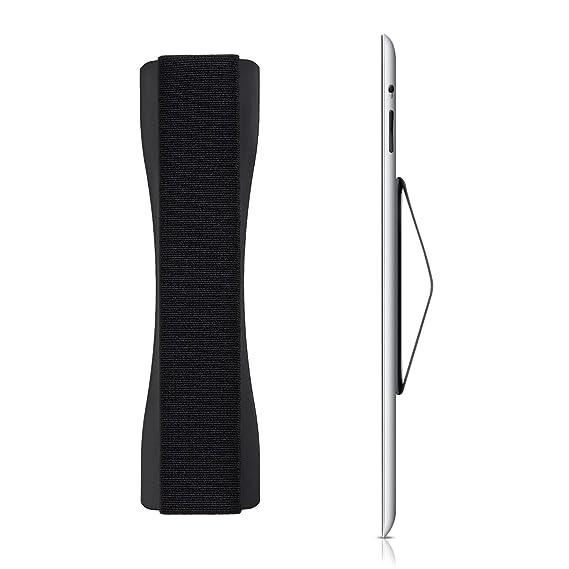 kwmobile Tablet Fingerhalter Griff Halter - Selbstklebende Tablet PC Fingerhalterung - Finger Halter für z. B. iPad Samsung S