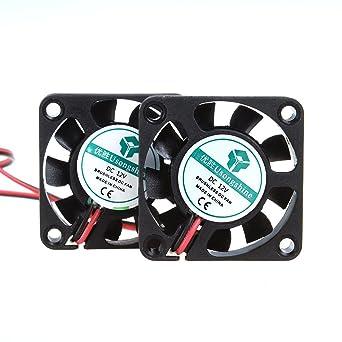 40 x 40 x 10mm 12V FAN Reprap Ramps Fan 12V 0.07A Fan with 2 Pin KF2510 Plug