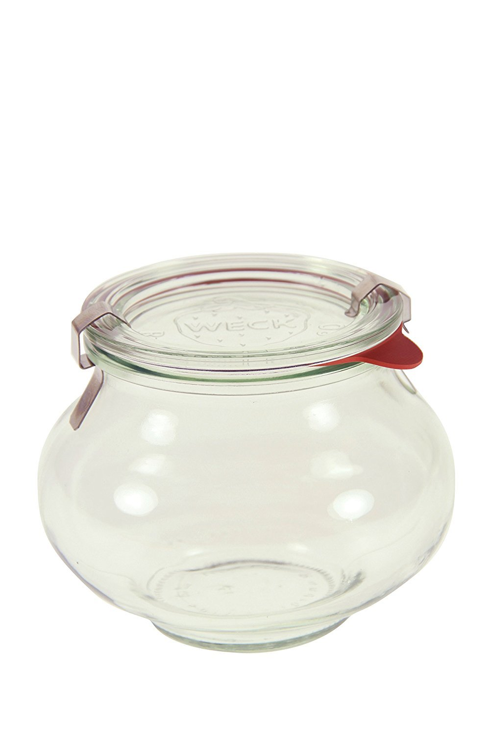 Weck 901 Deco Jar - .5 Liter, Set of 6