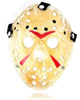SureWells Friday the 13th Part3 Jason Hockey HORROR deluxe MASK Khaki by SureWells