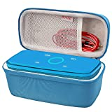 BOVKE for DOSS SoundBox Touch Wireless Bluetooth V4.0 Portable Speaker Protective Hard EVA Travel Shockproof Carrying Case Cover Storage Pouch Bag, Blue