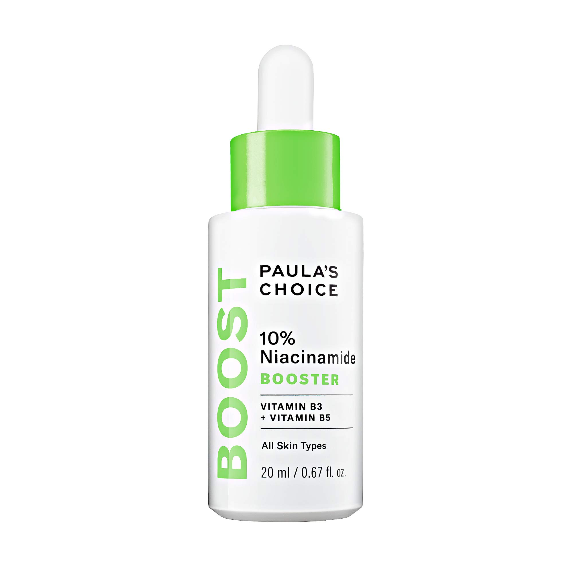 Paula's Choice BOOST 10% Niacinamide Booster, Vitamin B3, Vitamin C & Licorice Extract Serum, Pore Minimizer, 0.67 Ounce