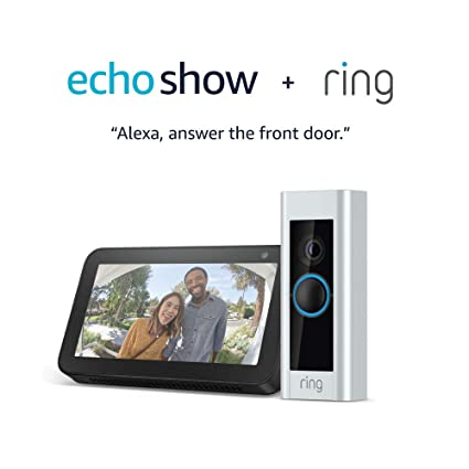 Amazon.com: Ring Video Doorbell Pro with Echo Show 5 (Charcoal): Amazon Devices