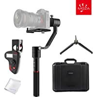 Moza Gudsen 3-Axis Handheld Gimbal Camera Stabilizer with Thumb Controller OLED Display and 7 Lb Mount W/Max Payload