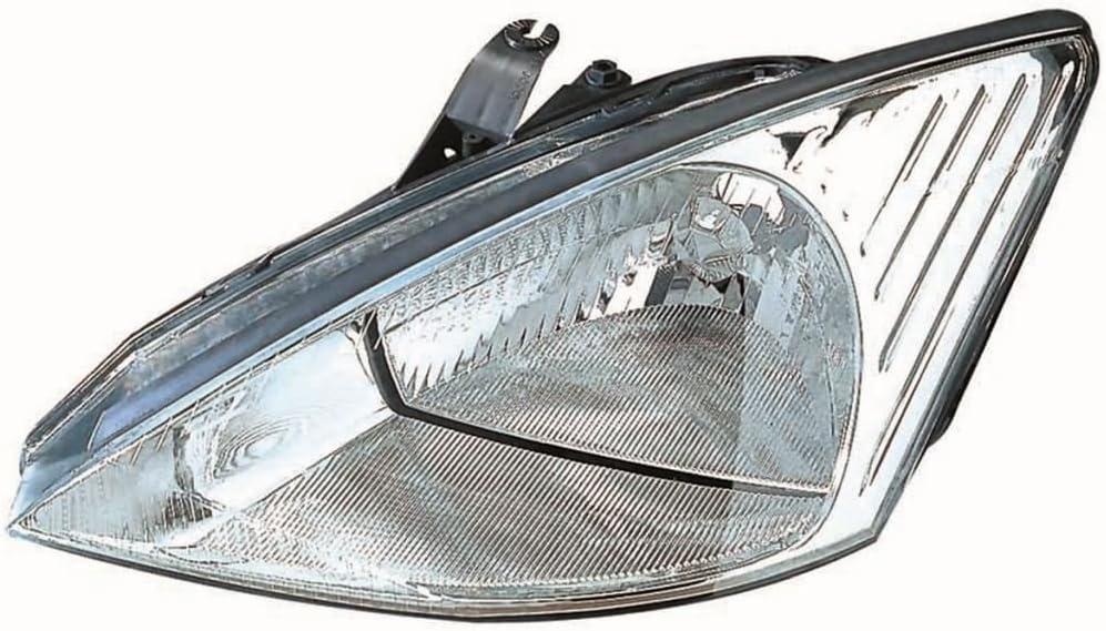 aftermarket Focus Mk1 1998-2001 Chrome Front Headlight Headlamp N//S Passenger Left