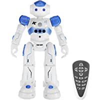 Remote Control Robot Toys for Kids Intelligent Programmable Dancing Singing Robot with Infrared Controller Led Eyes Gesture Sensing Robot Kit for Children Entertainment