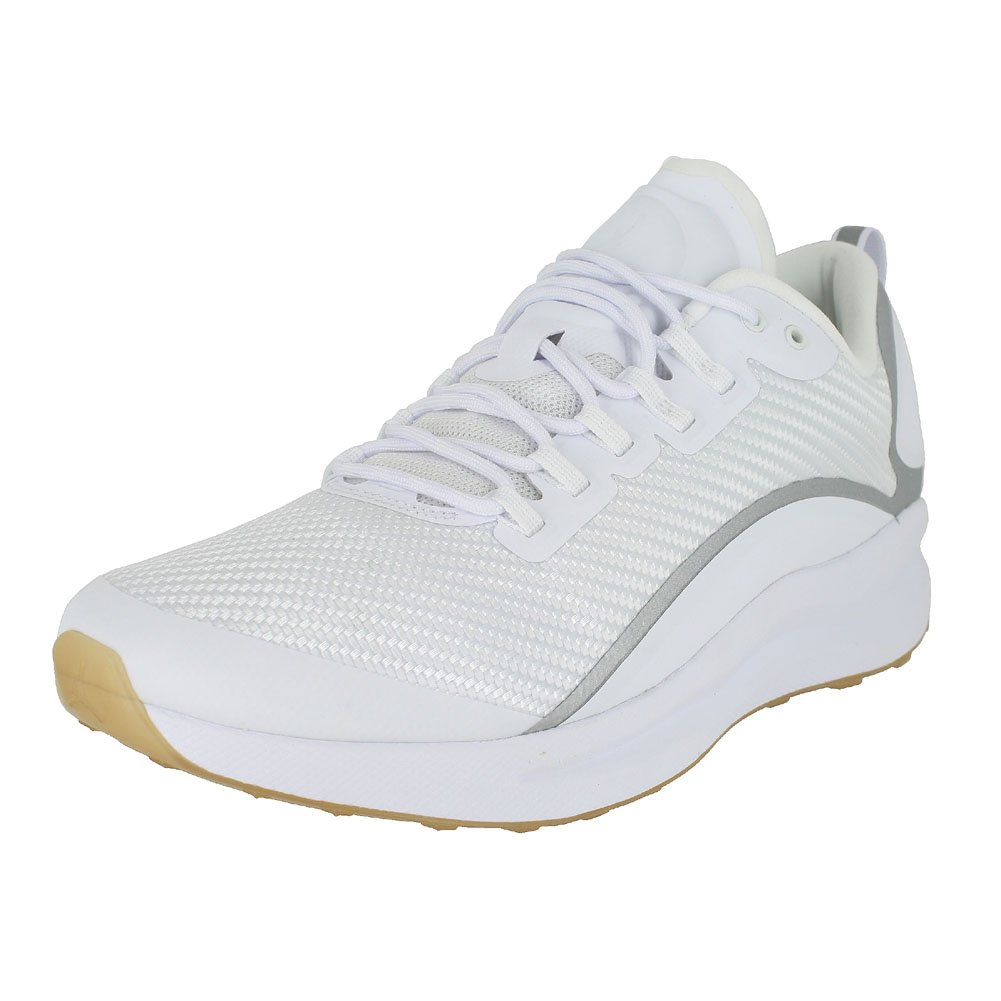 Nike Herren Jordan Zoom Tenacity Weiszlig; Textil/Synthetik Sneaker  45 EU|Wei? (White/Gum Light Brown/Reflect Silver)