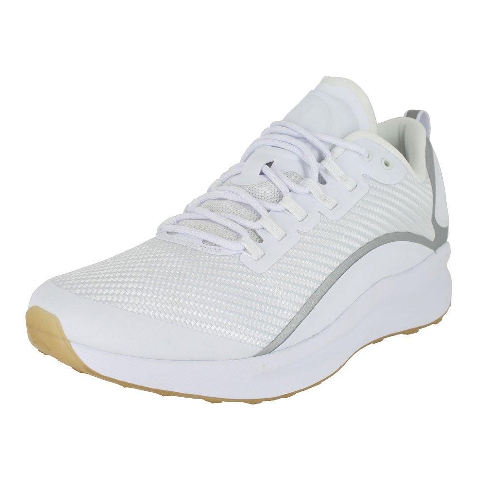 Nike Herren Jordan Zoom Tenacity Weiszlig; Textil/Synthetik Sneaker  41 EU|Wei? (White/Gum Light Brown/Reflect Silver)