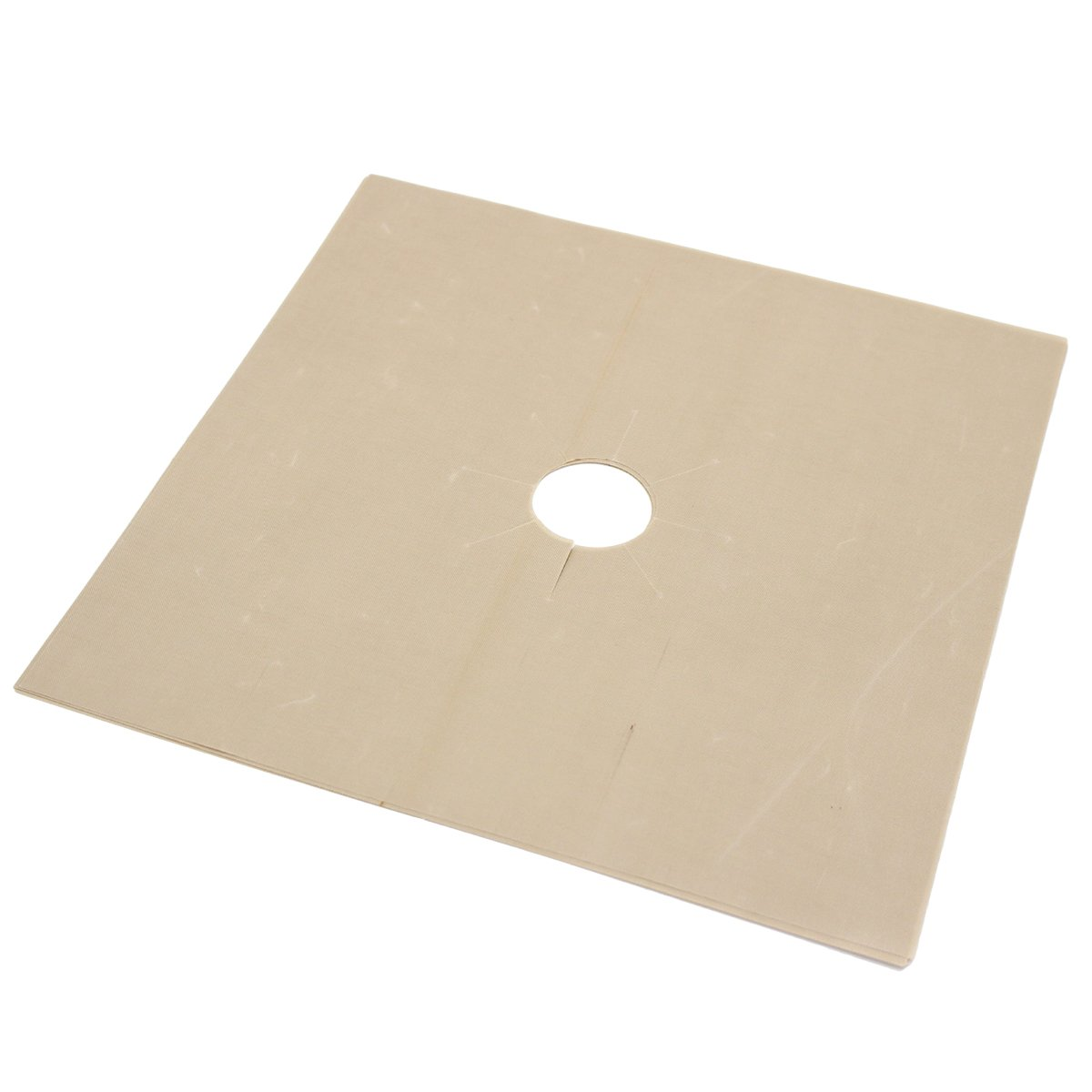 1pcs Universal Heavy Duty Oven Liner Gas Hob Protector Sheets (Beige) by BESTONZON (Image #2)
