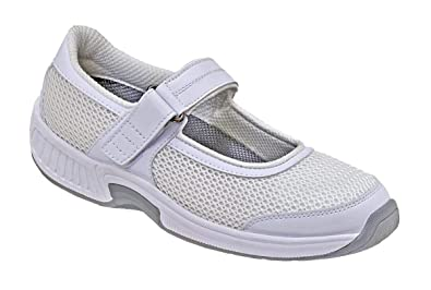 72735474fcd3b Orthofeet Arch Support Bunions Orthopedic Arthritis Diabetic Womens Mary  Jane Shoes Bristol