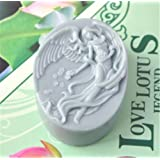 Oval Shape Angel Soap Mold Silicone DIY Art Craft Resin Mold for Natural Soap