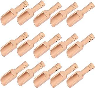 Hemoton 15 Peças de Mini Colheres de Sais de Banho de