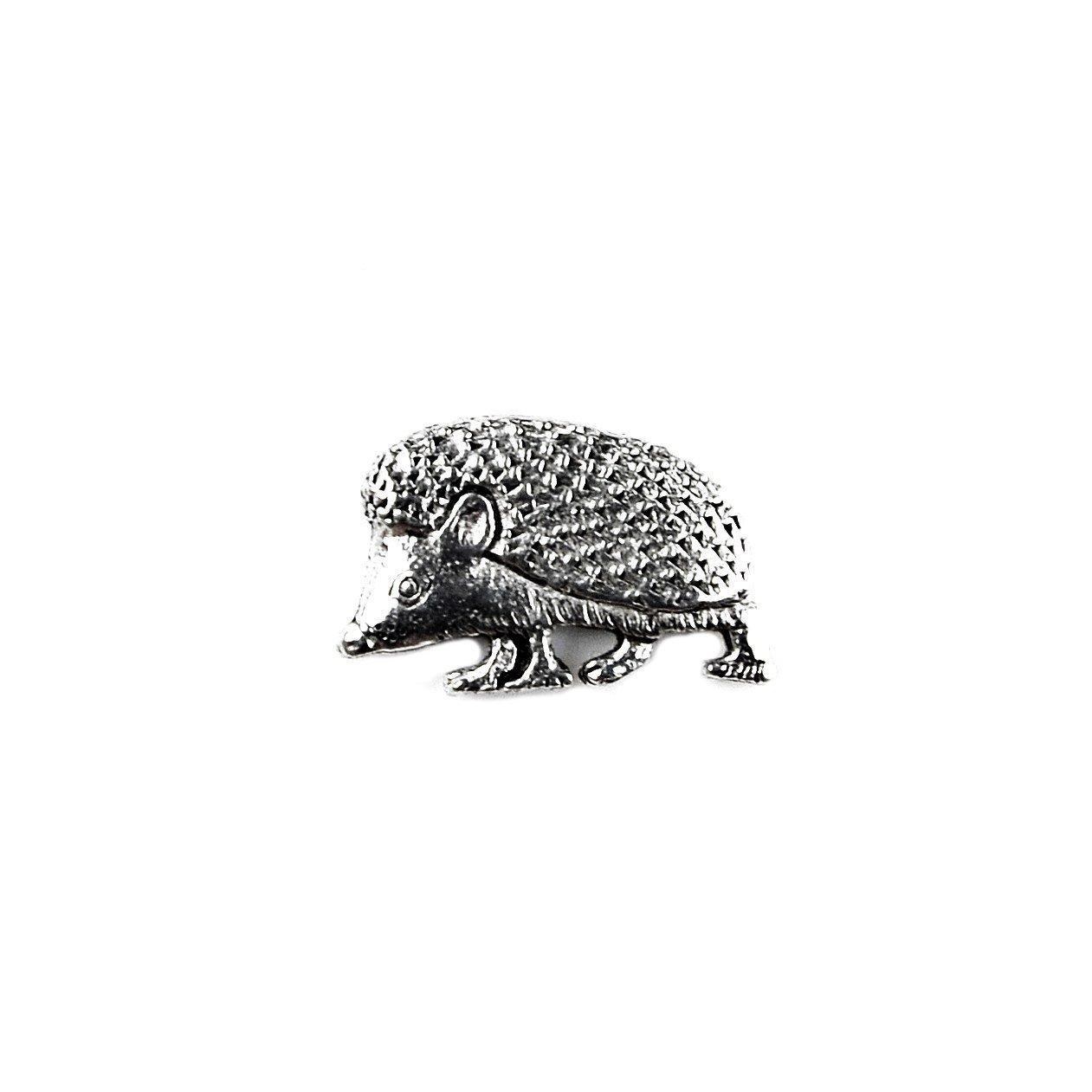 Quality Handcrafts Guaranteed Hedgehog Lapel Pin