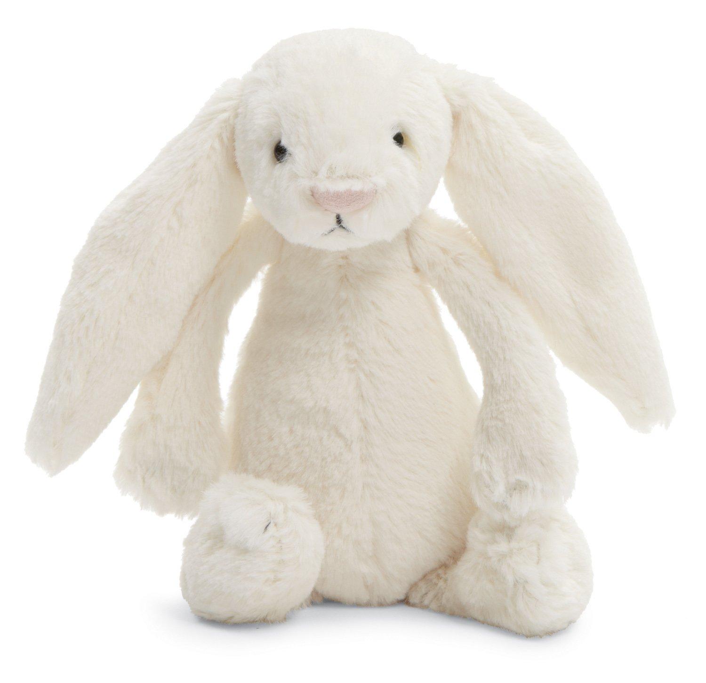 Amazoncom Jellycat Bashful Cream Bunny Small 7 inches Toys