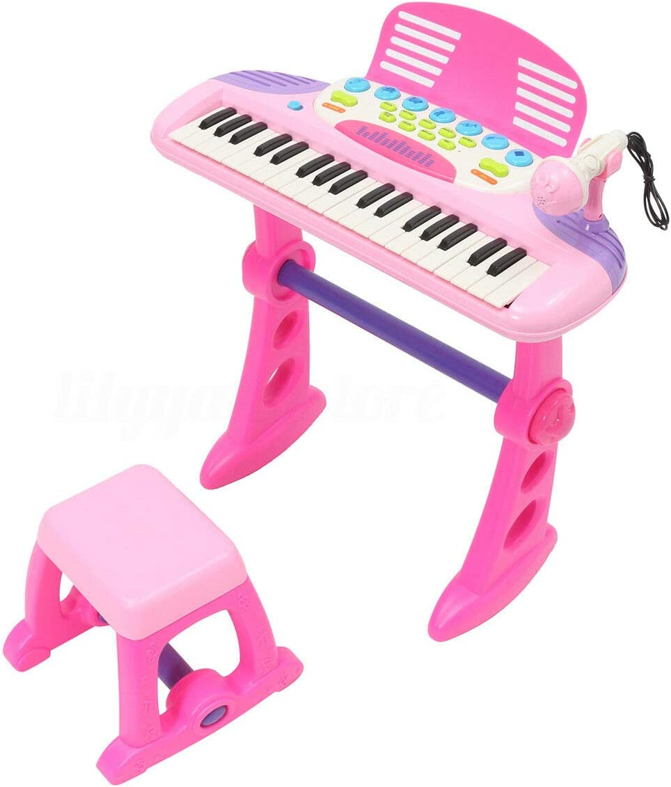 Kids 37Key Record Mic Electronic Keyboard Piano Toy Musical instrument Education