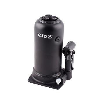 YATO YT-1711 - gato hidráulico de pistón de dos etapas 5t: Amazon.es: Coche y moto