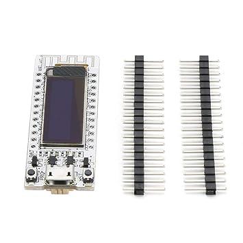 Banbie ESP8266 Tarjeta de Desarrollo Módulo WiFi Chip 0.91 ...